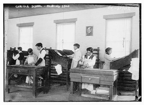 Carlisleindianschoolprintingshop