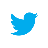 Twitterbirdblueonwhite
