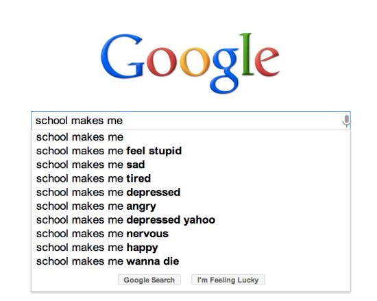 School makes me