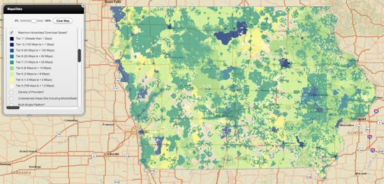 Iowa Broadband Access 2013 05 21