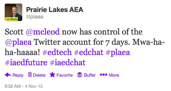 2013 PLAEA Twitter