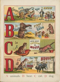 The ABC of Animals vintage children's book