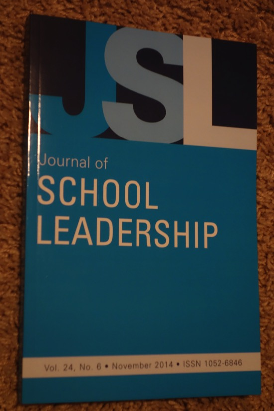Journal of School Leadership