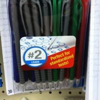 Testing pencils