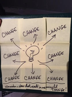 Change Post Its