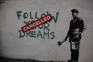 Banksy In Boston: Follow Your Dreams (CANCELLED)