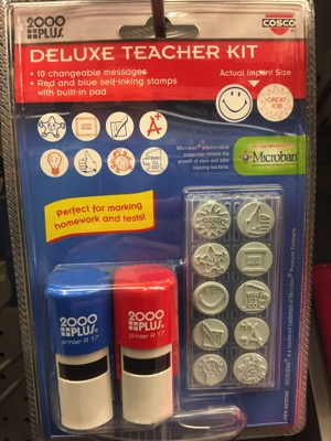Deluxe teacher grading kit