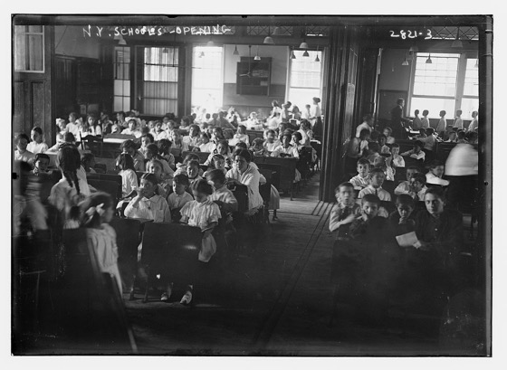 NYC Schools Opening (U.S. Library of Congress)